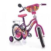 Доставка! Гарантия! велосипед от 2 лет, Mustang Winx, колеса 12 дюймов, розово-сиреневый,00000097284