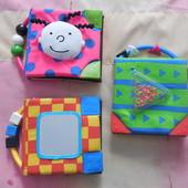 Развивающие мягкие книжечки для малыша  Ks Kids, очень интересные, идеальное состояние
