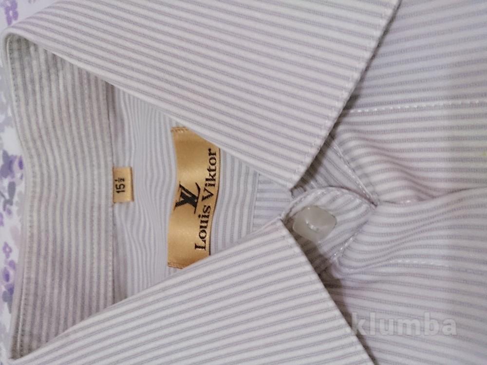 Рубашка с коротким рукавом, как новая фото №1