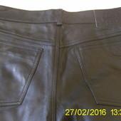 Шкіряні брюки чол. 33 р.