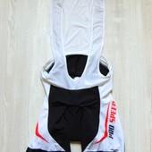 Новый костюм для велосипедиста. Внутри силиконовый памперс. Crivit. Размер М (48/50)