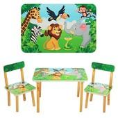 Новинка!Столик детский с двумя стульчиками