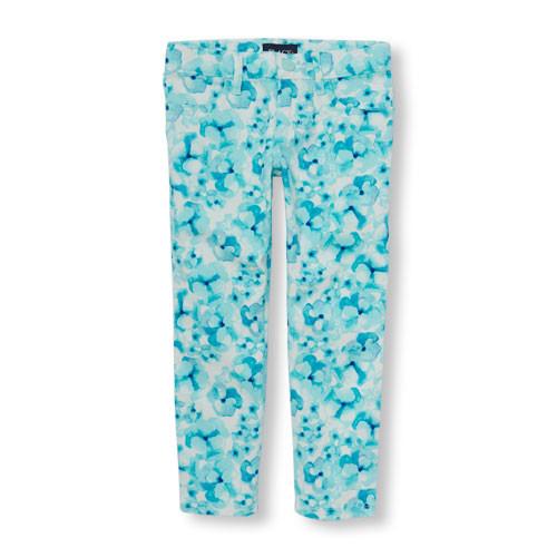 Красивые и яркие джинсы на девочек 2-10 лет hm childrensplace фото №1
