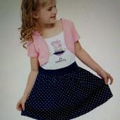 Детское платье Свинка Пеппа, 4-5 лет, новое