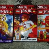 Конструктор Lebq Ninja Нинзяго, минифигурки