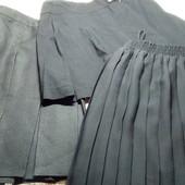 Спідниця , юбка шкільна чорна для дівчинки 128-140 см