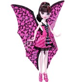 Дракулаура летучая мышь монстер хай monster high draculaura bat transformation