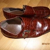 кожаные туфли стелька 26,5