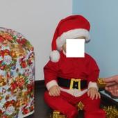 Продам отличный костюм Санта Клауса размер 80