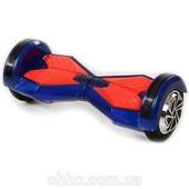 +видео! доставка! гироскутер Smart Scooter синий с красным (ES-02-4) + сумка