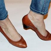 Туфли 37,5 р Canda Германия кожа полная оригинал