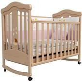 Детская кроватка Верес Соня ЛД14 бук Мишка в коляске 14.3.01