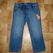 классные стреч джинсы 12-18 мес Lupilu  состояние отличное