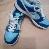 Кожанные кроссовки Nike размер 39 по стельке 25.5