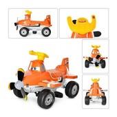 Квадроцикл детский, Bambi ZP 5211, Planes - самолет, цвет оранжевый