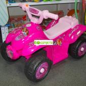 Квадроцикл детский, Bambi принцессы ZP 5111-8, цвет Розовый