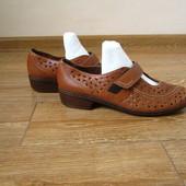 ara р.40-41 туфлі літні шкіра повна