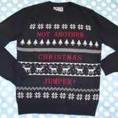 Новогодний мужской свитер Red herring р.s
