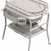 Пеленальный столик ванночка Chicco Cuddle & Bubble Silver