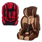 Качественное детское автокресло, 9-36 кг, Bambi M 2790, цвет Черно-красный