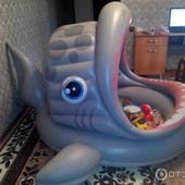 Детский надувной Бассейн Intex Акула (57120)