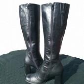 Кожаные сапожки -38 размер - 50 грн