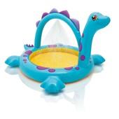 +видео! Детский надувной бассейн, Динозавр, Intex 57437