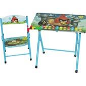 Парта Bambi DT 19-5, со стулом Angry Birds