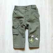 Стильные штаники для мальчика. Внутри на котоновой подкладке. Размер 4-6 месяцев, рост 68 см.