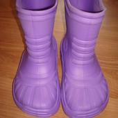 Резинові чобітки Crocs. 33-34 розмір
