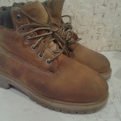 кожаные ботинки Timberland (оригинал) 20см