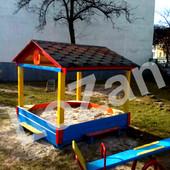 Пісочниця хатка домик для двору чи садка