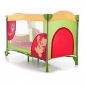 манеж детский Bambi Winnie The Pooh A 03-7, цвет красно-зеленый