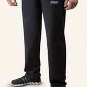 Спортивные мужские брюки ровные из элластана 10235