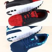 Кроссовки мужские красные и синие р.41-46 Puma