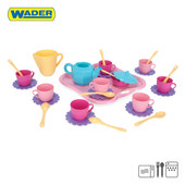 Набор посуды на подносе 30 элементов, Wader. Артикул: 22040