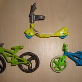 Киндеры / велосипеды и самокат