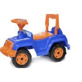 Машинка для катания 4 х 4 синяя 549