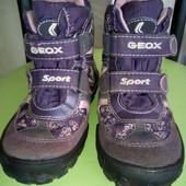 Ботинки  зимние Geox разм-25,БУ