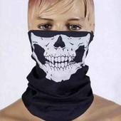 Маска балаклава повязка череп военная ато мотоциклетная шарф