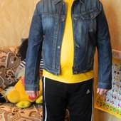 Джинсовая куртка-пиджак мужская