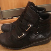 Missy ботинки кожа демисезонные размер 36-37