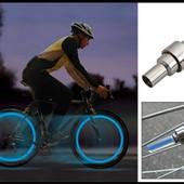 2 LED подсветки на колеса авто, мотоцикла, велосипеда.В лоте 2 подсветки.