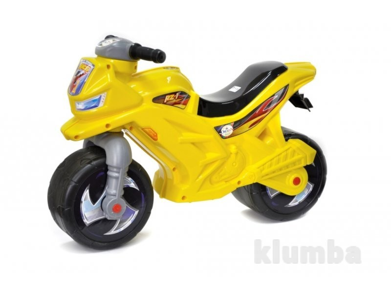Мотоцикл желтый 501 орион фото №1