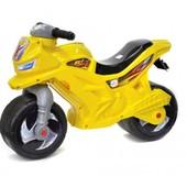Мотоцикл желтый 501 орион