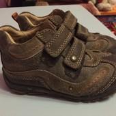 Кожаные ботиночки, туфли primigi 25 р.