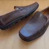 Туфли мокасины Ecco натур кожа -размер 45-длина стельки-30 см