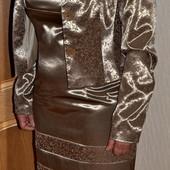 Комплект костюм Lilit Collection платье и жакет в отличном состоянии 42/44 р. или М