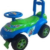 Автошка с музыкальным рулем для мальчика машинка толкатель 0142/06