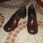 Туфлі Ponte шкіра 39розмір 25,5 см Італія